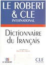 Le Robert CLE Internatio Dictionnnaire du francais
