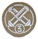 Naszywka Specjalista Artylerii 3 klasy
