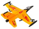 Zdalnie Sterowany Samolot Myśliwiec Lata Latający