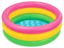 Dmuchany brodzik basen tęcza 85cm Intex 58924