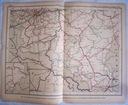 HOLANDIA. Mapa kolejowa.
