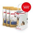 Royal Canin French Bulldog Adult 3x3kg + Curver GR