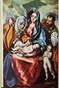 Pocztówki El Greco Malarstwo 9szt Różne muzea