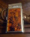 papierośnica bursztynowa z zapalniczka gazowa