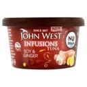 John West Infusions Tuńczyk Soja i Imbir 80g - UK