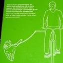 smycz dla psa do roweru z wysięgnikiem