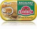Bacalhau dorsz w oliwie z czosnkiem Ramirez 120g