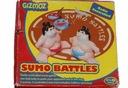 Gra planszowa Sumo Battles zapasy sumo uszkodzona