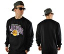 Bluza XXL Mitchell Ness Arch Crew LA Lakers NBA