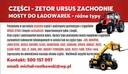 MANITOU CLAAS ZF ZWOLNICA OBUDOWA SPICER CARRARO