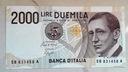 Włochy, 2000 lirów z 1990 r.