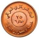 Irak - moneta - 25 Dinarów 2004