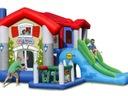 Dmuchaniec Wielki Dom HappyHop z trampoliną