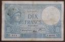 """""""10 Francs 1939,,,,,,.od 8,99zl"""