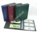 Klaser na banknoty kolekcjonerskie + futerał