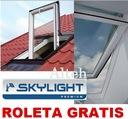 OKNO SKYLIGHT PREMIUM 66x118 + KOŁNIERZ + ROLETA !