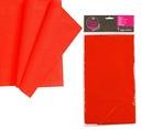 Obrus foliowy plastikowy Czerwony 140x260 cm