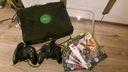 Pierwszy model Xbox konsola gry plus 2 pady