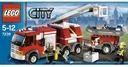Lego City 7239 Samochód Strażacki