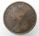 1889 Hong Kong 1 cent