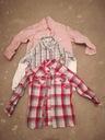 Koszule w kratkę zestaw H&M gap. Roz 104 3 szt