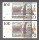 2 X 100 Gulden 1970