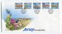 Jersey Michel nr: 1094 - 1098 FDC