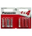 160szt x PANASONIC AA / R6 -0,43PLN/szt brutto