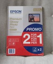EPSON PREMIUM GLOSSY PHOTO PAPER A4 255G 2x15szt