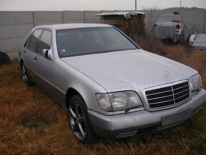 Mercedes Klasa S W140 1992 mercedes w 140 całość lub nie
