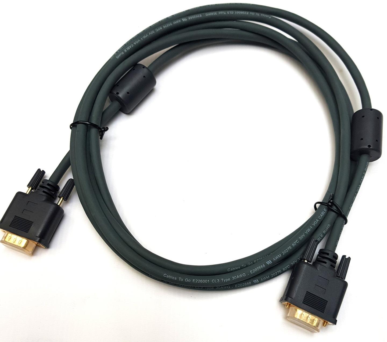 Kabel Przewd Vga 3m Do Monitora 6935734256 Wicej Nowy Flexima Hd15 Uxga