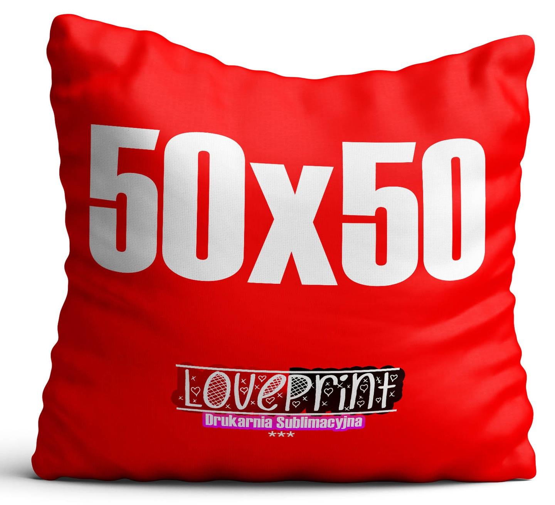 Poduszka Z Własnym Zdjęciemnadrukiem 50x50cm Ful