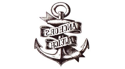 Tatuaż Zmywalny Kotwica Anchora Aweich Marynarka