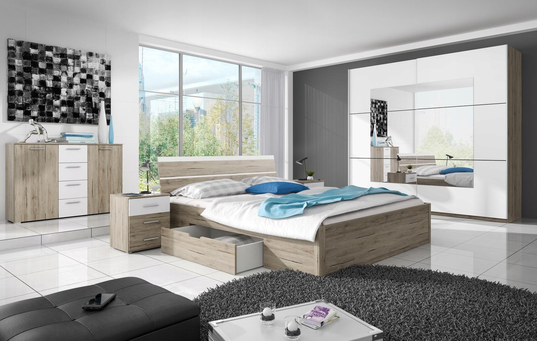 łóżko Beta 52dąb San Remo Jasny Helvetiagratisy