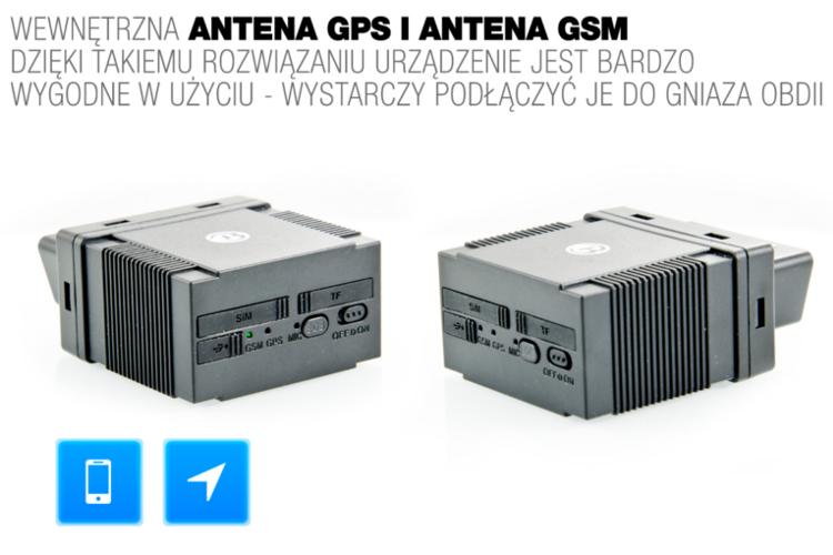 Lokalizator Nadajnik Tracker Gps Obd Ii Android 6718764136