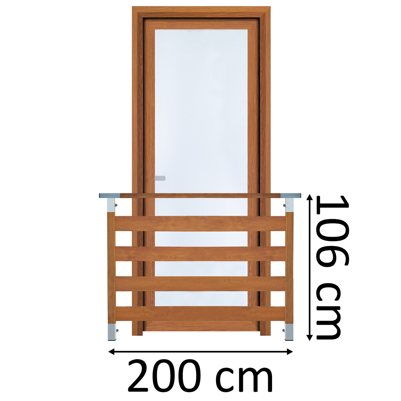 Classic4 Balkon Francuski 200cm Balustrada Okienna 7338822119