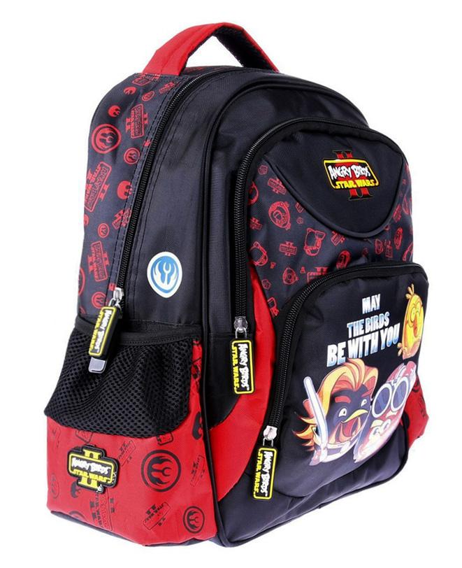 52e0d41a41d4d Plecak szkolny Angry Birds Star Wars duży 15` 7565134111 - Allegro.pl