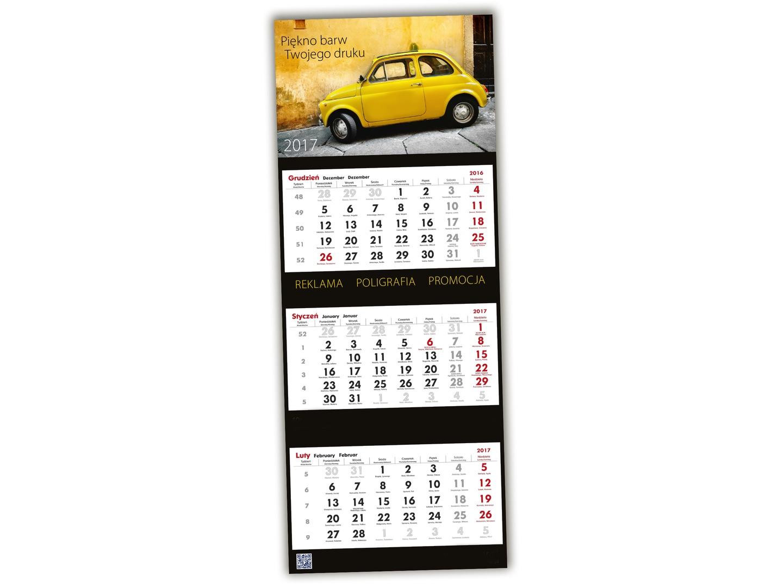 9523b63fd8cf3c 1x Foto-Kalendarz Trójdzielny 2019 Twoje Zdjęcia 6966851054 - Allegro.pl