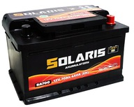 Аккумулятор solaris 70Ah 640A