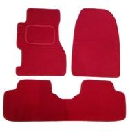 Dywaniki samochodowe Civic VII czerwone EP1 - EP3