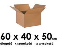 Pudełko kartonowe 60 cm x 40 cm x 50 cm opakowanie