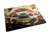 Podkładka pod mysz World of Tanks czołgi wot napis
