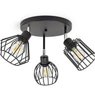 Lampa Plafon Loft Edison z Drutu Druciak 720-G3M