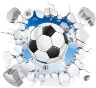 naklejki dla dzieci na ścianę piłki piłka 95x95cm