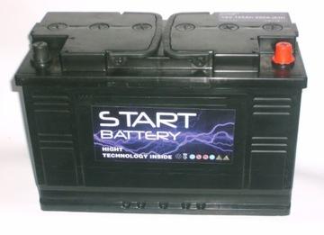 аккумулятор 120 ah en правый+  950a akumulatory 125 135 - фото