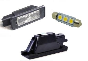 peugeot 2008 208 подсветка таблици плафон светодиод led - фото