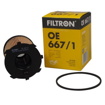 фильтр масла filtron oe667/1 ford citroen peugot - фото