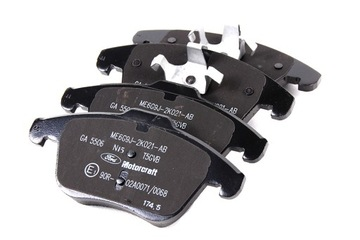 колодки дисковые тормозное mondeo mk4 s-max передняя сторона оригинал - фото