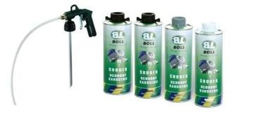 БОЛЛ Комплект для обслуживания шасси 4x1L +пистолет доставка товаров из Польши и Allegro на русском