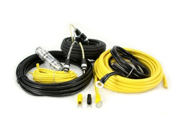 Провода, Кабели CCA-28 для усилителя, 8GA/300W доставка товаров из Польши и Allegro на русском